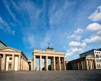 Berlin Branderburg port royaltyfria bilder