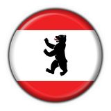 Berlin button flag round shape Stock Image
