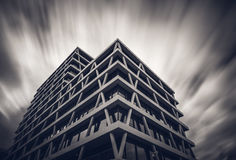berlin byggnad moderna germany Arkivbilder