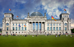 Berlin Capital Building Reichstag Stock Photography