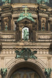 Berlin Cathedral. A fragment of Berliner Dom (Berlin Cathedral Royalty Free Stock Photography