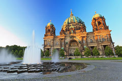 Berlin Cathedral Arkivfoton