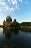 Berlin Cathedral. During a sunrise Royalty Free Stock Photo