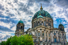 Berlin Cathedral royalty-vrije stock afbeeldingen