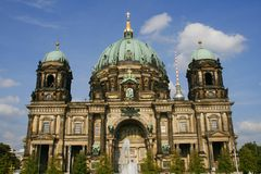Berlin Cathedral Stock Photos