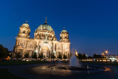 Berlin Cathedral (Allemand : Les DOM de Berlinois) est une église à Berlin, G photo stock