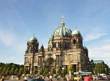 Berlin Cathedral als Evangelische Opperste Parochie en Collegiale Kerk in Berlijn, Duitsland ook wordt bekend dat Royalty-vrije Stock Afbeeldingen