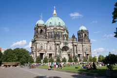 Berlin cathedral (Berliner Dom) Royalty Free Stock Image