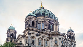 Berlin Cathedral. The Berlin Cathedral (Berliner Dom) against the cloudy skies in Berlin, Germany Royalty Free Stock Images