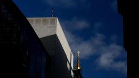 Berlin Cathedral Berliner Dom in Berlijn, Duitsland stock footage