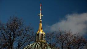 Berlin Cathedral Berliner Dom in Berlijn, Duitsland stock video