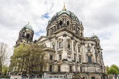 The Berlin Cathedral Berliner Dom in Berlin, Germany Royalty Free Stock Photography