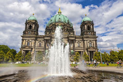 Berlin Cathedral Berliner Dom in Berlin, Germany Royalty Free Stock Photos