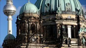 Berlin Cathedral Berliner Dom in Berlin, Germany stock video