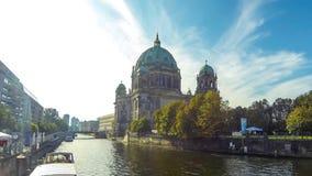 Berlin Cathedral Berliner Dom, Duitsland stock videobeelden
