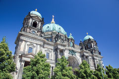 Berlin Cathedral. Berliner Dom, Duitsland Stock Fotografie