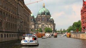 Berlin Cathedral, Berliner Dom, Duitsland stock footage