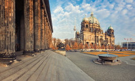 Berlin Cathedral, or Berliner Dom in Fall Stock Photo