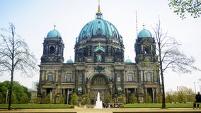 Berlin Cathedral Berliner Dom - famous landmark of Berlin. Berlin Cathedral Berliner Dom - famous landmark on the Museum Island in Mitte district of Berlin. It Royalty Free Stock Photo