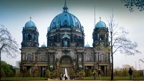 Berlin Cathedral Berliner Dom - famous landmark of Berlin. Berlin Cathedral Berliner Dom - famous landmark on the Museum Island in Mitte district of Berlin. It Royalty Free Stock Photography