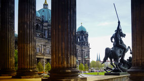 Berlin Cathedral Berliner Dom - famous landmark of Berlin. Berlin Cathedral Berliner Dom - famous landmark on the Museum Island in Mitte district of Berlin. It Stock Photography