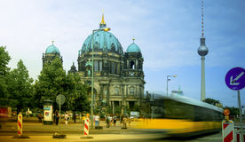 Berlin Cathedral Berliner Dom - famous landmark of Berlin. Berlin Cathedral Berliner Dom - famous landmark on the Museum Island in Mitte district of Berlin. It Royalty Free Stock Photos
