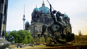 Berlin Cathedral Berliner Dom - famous landmark of Berlin. Berlin Cathedral Berliner Dom - famous landmark on the Museum Island in Mitte district of Berlin. It Stock Photos