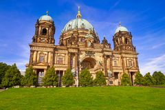 Berlin Cathedral Berliner Dom Germany. Berlin Cathedral Berliner Dom in Germany Royalty Free Stock Photos
