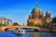 Berlin Cathedral Berliner Dom Germany. Berlin Cathedral Berliner Dom in Germany Stock Photos