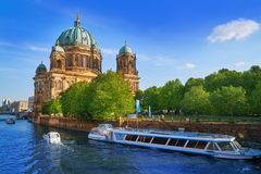 Berlin Cathedral Berliner Dom Germany. Berlin Cathedral Berliner Dom in Germany Royalty Free Stock Photography