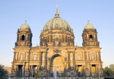 Berlin Cathedral (Berliner Dom), Germany. Berlin Cathedral (Berliner Dom) on a sunny evening; Berlin, Germany Royalty Free Stock Images