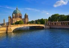 Berlin Cathedral Berliner Dom Germany. Berlin Cathedral Berliner Dom in Germany Stock Photography