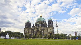 Berlin Cathedral (Berliner Dom), Germany stock video