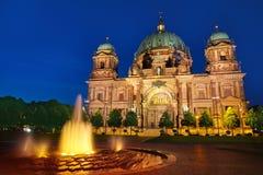 Berlin Cathedral Berliner Dom Germany. Berlin Cathedral Berliner Dom at sunset in Germany Stock Photos
