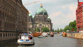 Berlin Cathedral, Berliner Dom, Germany stock footage