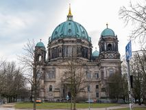 Berlin Cathedral / Berliner Dom, on Museum Island, Mitte, Berlin. Germany royalty free stock photo