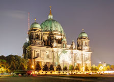 Berlin cathedral, Berliner Dom Royalty Free Stock Photo
