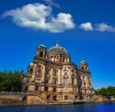 Berlin Cathedral Berliner Dom Germany. Berlin Cathedral Berliner Dom from Spree river in Germany Royalty Free Stock Images