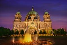 Berlin Cathedral Berliner Dom Germany. Berlin Cathedral Berliner Dom at sunset in Germany Stock Photography