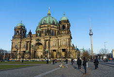 Berlin Cathedral (BerlinerDom) Fotografering för Bildbyråer