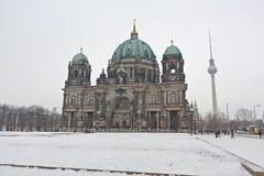 Berlin Cathedral (BerlinerDom), Berlin, Tyskland Royaltyfri Bild