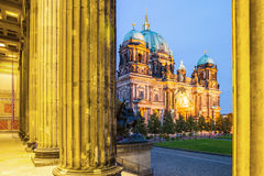 Berlin Cathedral - BerlinerDom, Berlin, Tyskland Royaltyfri Fotografi