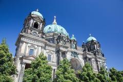 Berlin Cathedral. BerlinerDom, Tyskland Arkivbild