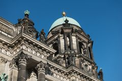 The Berlin Cathedral is called Berliner Dom. Royalty Free Stock Photography
