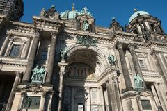The Berlin Cathedral is called Berliner Dom. Stock Photos
