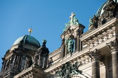 The Berlin Cathedral is called Berliner Dom. Stock Photography