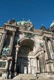 The Berlin Cathedral is called Berliner Dom. Royalty Free Stock Image