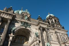 The Berlin Cathedral is called Berliner Dom. Stock Image