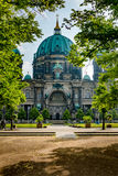 Berlin Cathedral Cathedral van Berlijn, Duitsland royalty-vrije stock afbeeldingen