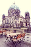 Berlin Cathedral Church Arkivbild